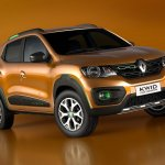 Renault Kwid Outsider concept front three quarters