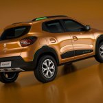 Renault Kwid Outsider concept rear three quarters