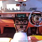Rolls Royce Phantom VIII dashboard
