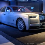 Rolls Royce Phantom VIII front angle