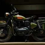 Royal Enfield Electra 'Johnnie' by Eimor customs left side