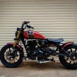 Royal Enfield Thunderbird 500 Sukarno by Bulleteer Customs left side