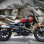 Royal Enfield Thunderbird 500 Sukarno by Bulleteer Customs right side