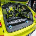 Skoda Vision X concept boot at 2018 Geneva Motor Show