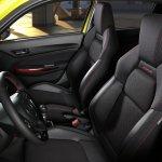 Suzuki Swift Sport Beeracing front seats