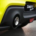 Suzuki Swift Sport Beeracing rear diffuser