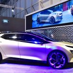 Tata 45X concept right side at 2018 Geneva Motor Show