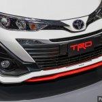 Toyota Yaris Ativ TRD front fascia