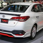 Toyota Yaris Ativ TRD rear three quarters