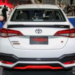 Toyota Yaris Ativ TRD rear