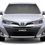 Toyota Yaris front official image