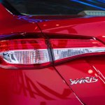 Toyota Yaris tail lamp