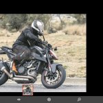 Updated KTM 1290 Super Duke spied