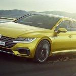 VW Arteon Shooting Brake front three quarters rendering
