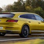 VW Arteon Shooting Brake rear three quarters rendering