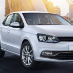 VW Polo front three quarters