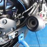 Yamaha YZF-R15 v3.0 track ride review Daytona exhaust tip