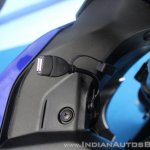 Yamaha YZF-R15 v3.0 track ride review USB outlet