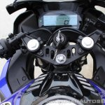 Yamaha YZF-R15 v3.0 track ride review cockpit