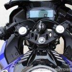 Yamaha YZF-R15 v3.0 track ride review cockpit