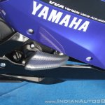 Yamaha YZF-R15 v3.0 track ride review frame slider