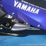 Yamaha YZF-R15 v3.0 track ride review frame slider