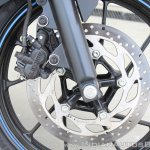 Yamaha YZF-R15 v3.0 track ride review front brake