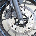 Yamaha YZF-R15 v3.0 track ride review front brake