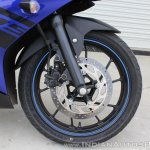 Yamaha YZF-R15 v3.0 track ride review front wheel