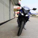 Yamaha YZF-R15 v3.0 track ride review front