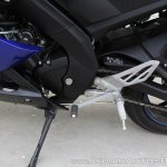 Yamaha YZF-R15 v3.0 track ride review gear shifter