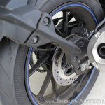 Yamaha YZF-R15 v3.0 track ride review rear brake