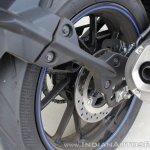 Yamaha YZF-R15 v3.0 track ride review rear brake