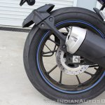 Yamaha YZF-R15 v3.0 track ride review rear wheel