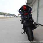 Yamaha YZF-R15 v3.0 track ride review rear