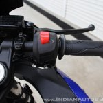Yamaha YZF-R15 v3.0 track ride review right switchgear