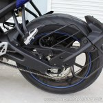 Yamaha YZF-R15 v3.0 track ride review swingarm