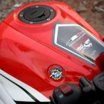 Yamaha YZF-R3 MV Agusta livery fuel tank
