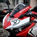 Yamaha YZF-R3 MV Agusta livery headlight