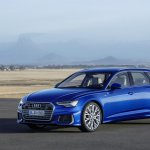 2018 Audi A6 Avant front three quarters
