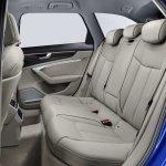 2018 Audi A6 Avant rear seats