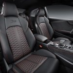 2018 Audi RS 5 Coupe front seats