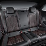 2018 Audi RS 5 Coupe rear seats
