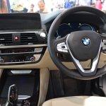 2018 BMW X3 Black Sapphire dashboard driver side