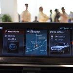2018 BMW X3 Black Sapphire infotainment system