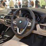 2018 BMW X3 Black Sapphire interior dashboard