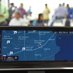 2018 BMW X3 Black Sapphire navigation