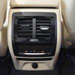 2018 BMW X3 Black Sapphire rear AC vents