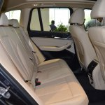 2018 BMW X3 Black Sapphire rear seat