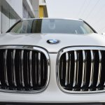 2018 BMW X3 Mineral White Kidney Grille